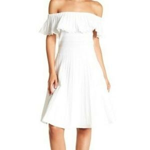 Ted Baker NEW White 10 US Dilpree Off The shoulder
